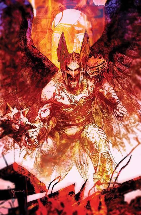 Death of Hawkman #6 CVR B