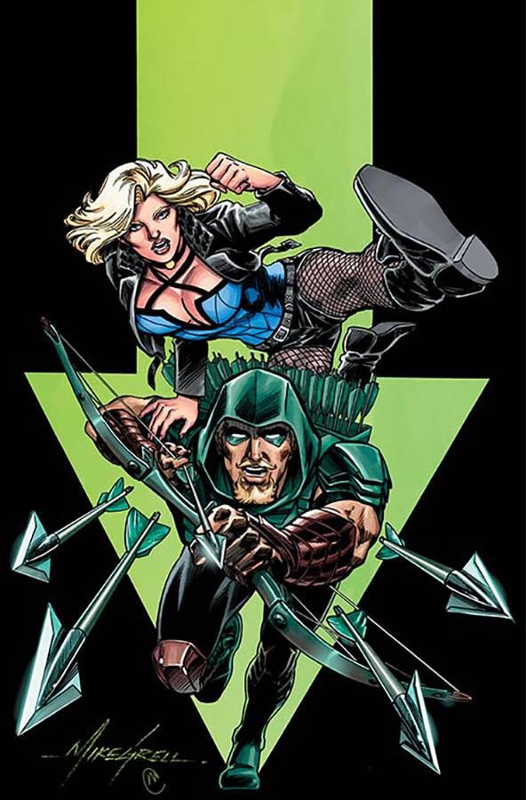 Green Arrow V7 #18 CVR B