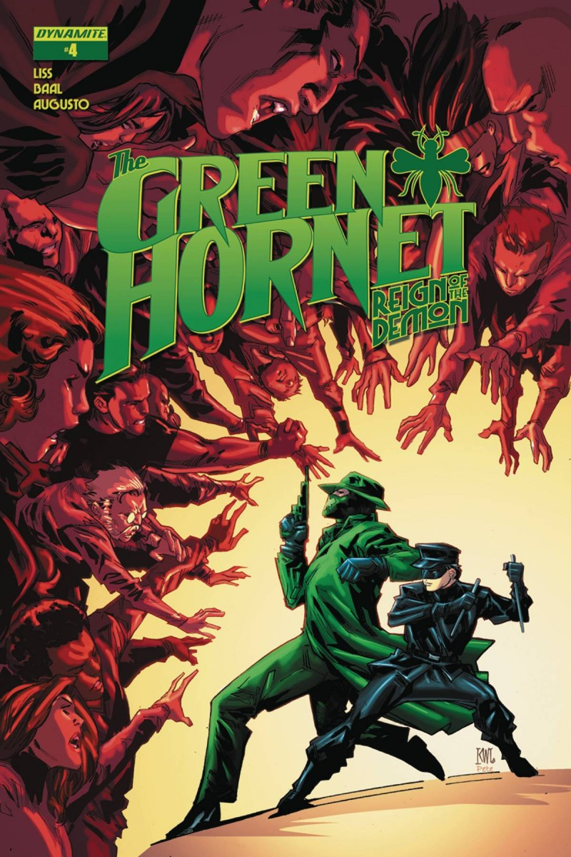 Green Hornet Reign of Demon #4