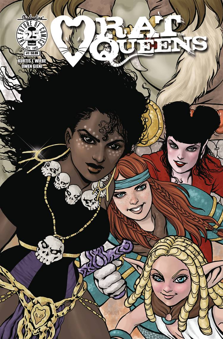 Rat Queens V2 #1 CVR C Womens History Month