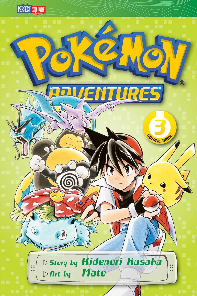 Pokemon GN Adventures V3 Red Blue