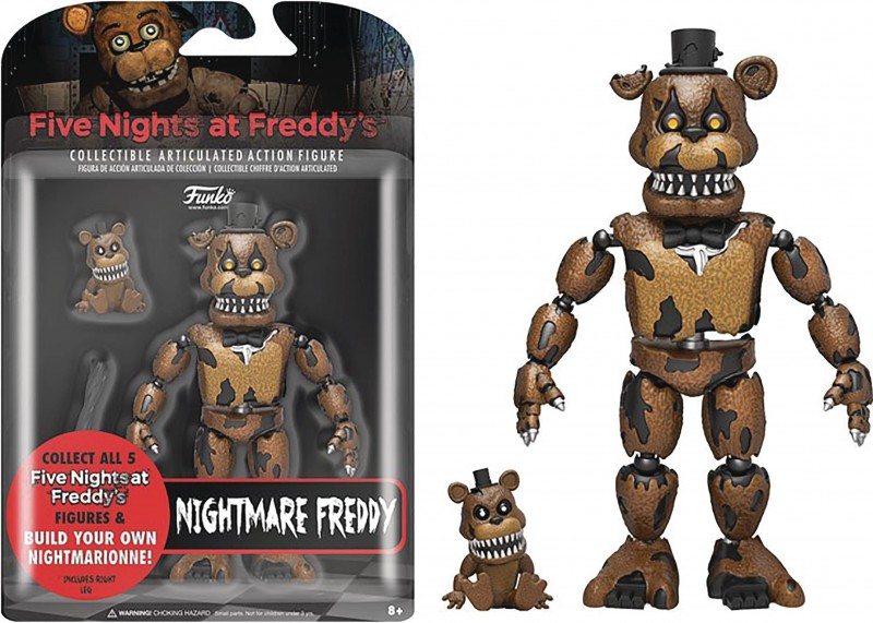 Five Nights at Freddys AF Nightmare Freddy