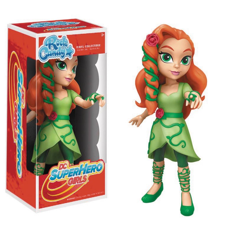 Rock Candy Figure DC Super Hero Girls Poison Ivy