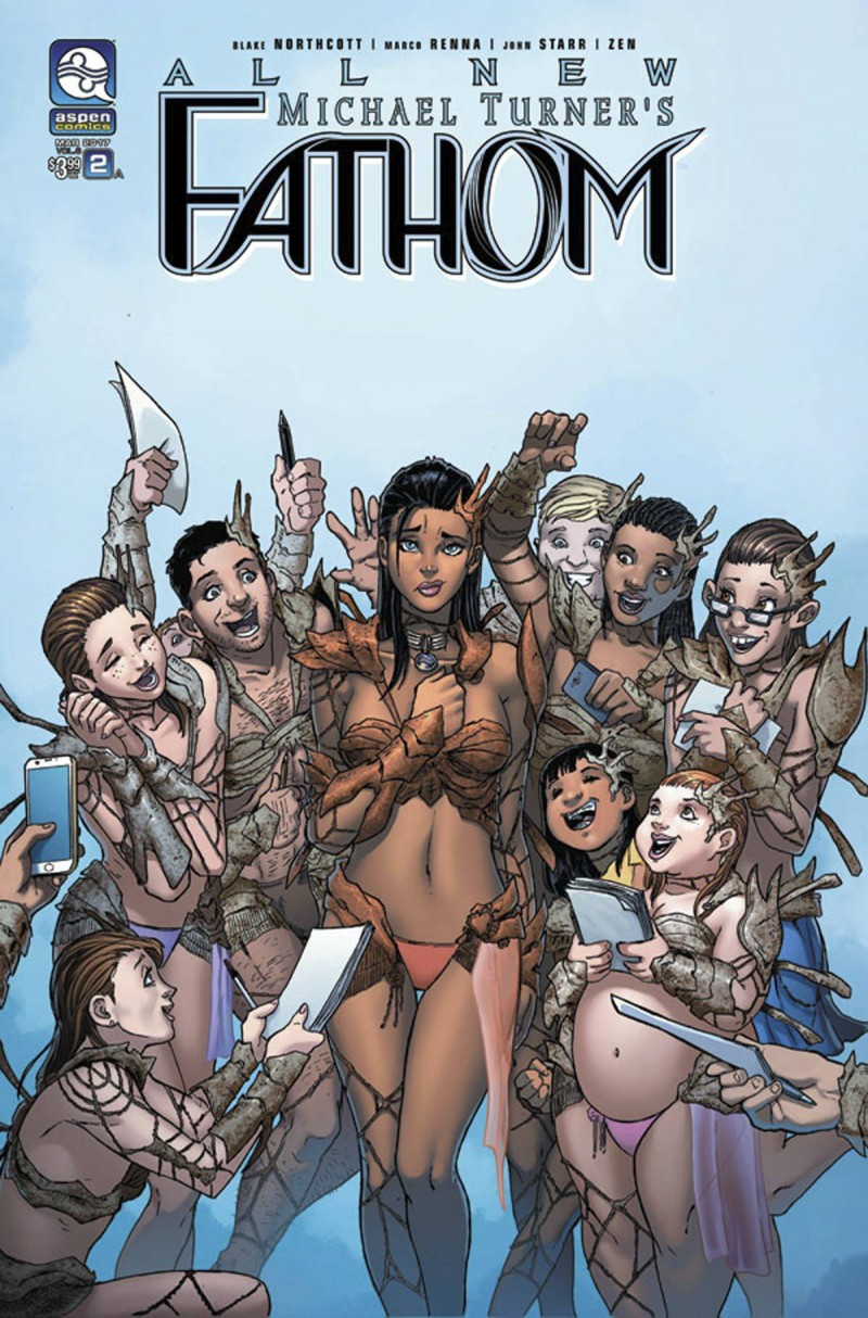 All New Fathom #2 CVR A Renna