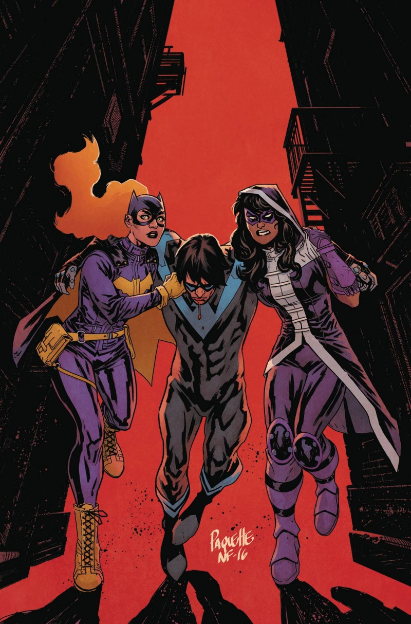 Batgirl and the Birds of Prey #8 CVR A