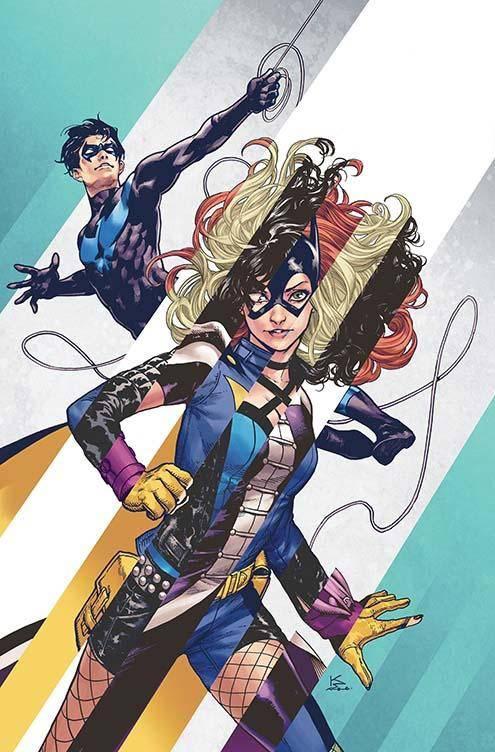 Batgirl and the Birds of Prey #8 CVR B
