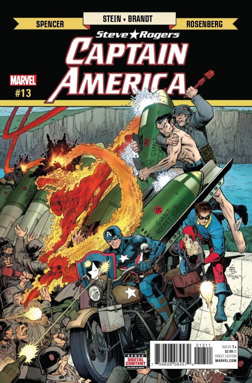 Captain America Steve Rogers #13