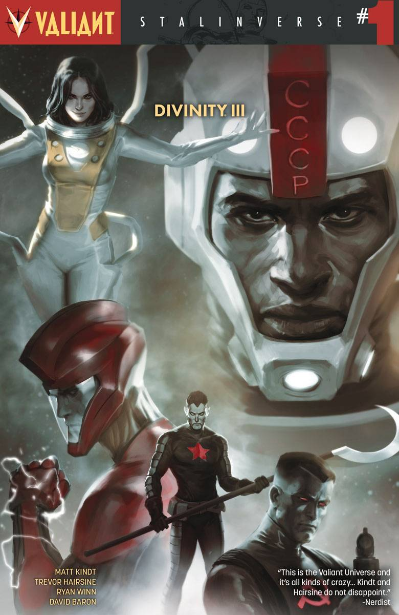 Divinity V3 Stalinverse #1 Second Printing