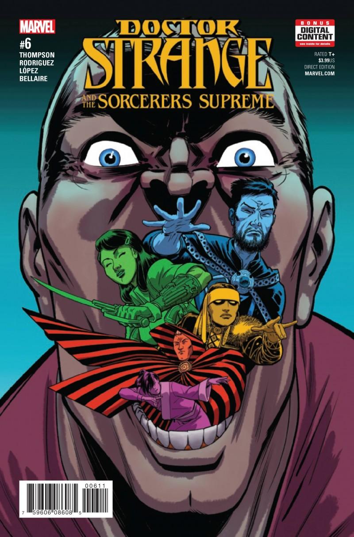 Dr Strange SS V2 #6 (Sorcerers Supreme)
