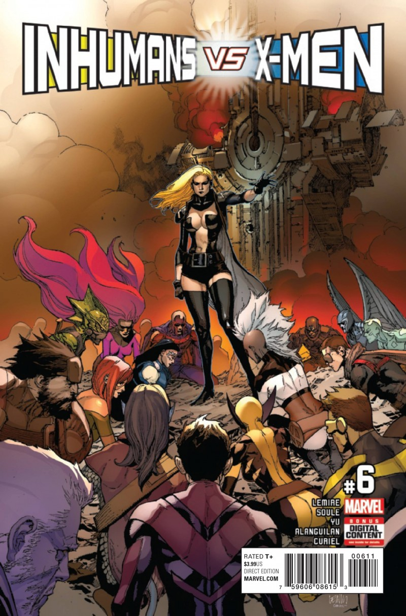 Inhumans Vs X-Men #6