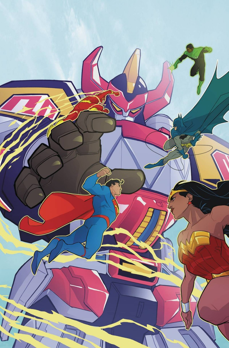 Justice League Power Rangers #3