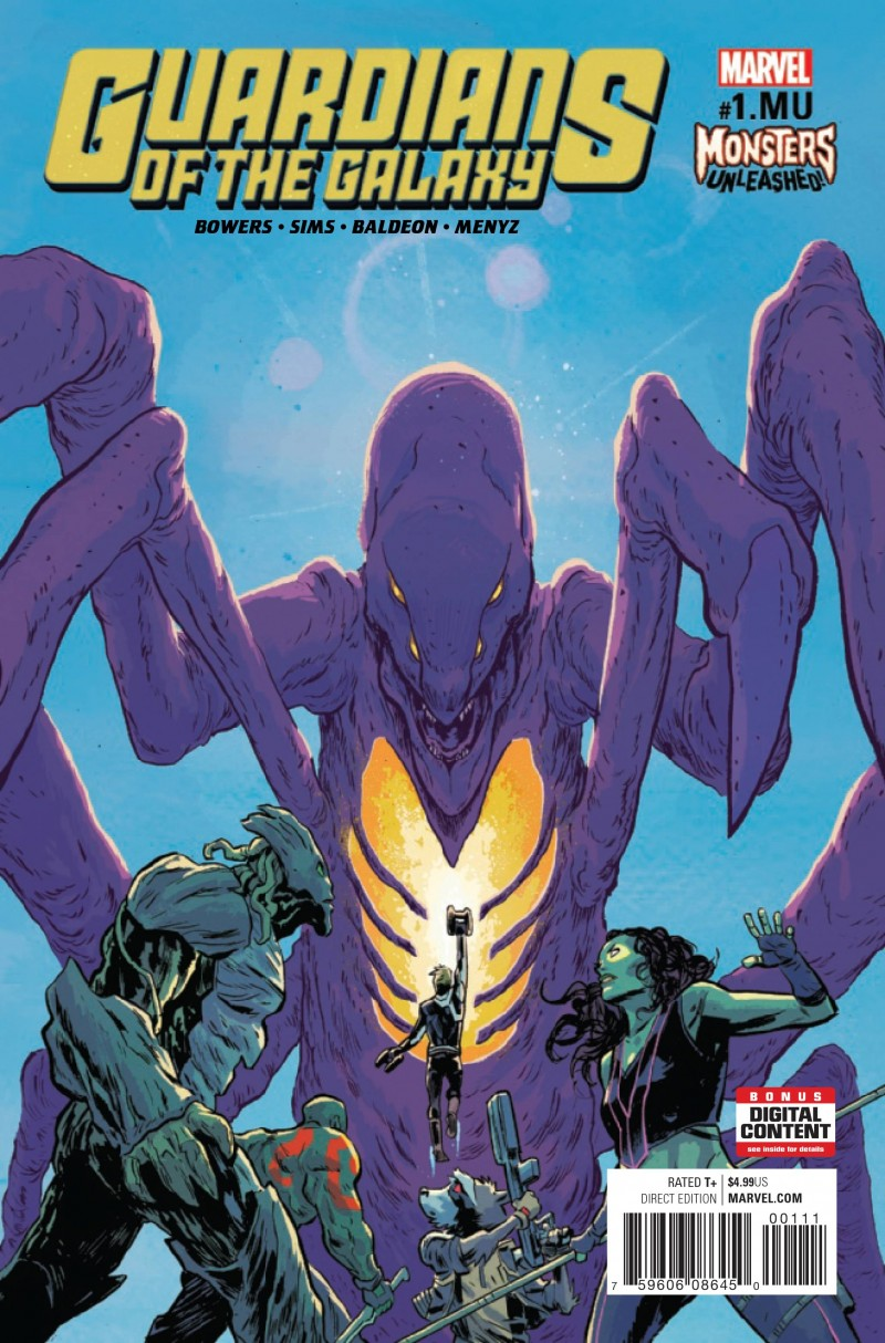 Monsters Unleashed One-Shot Guardians of the Galaxy