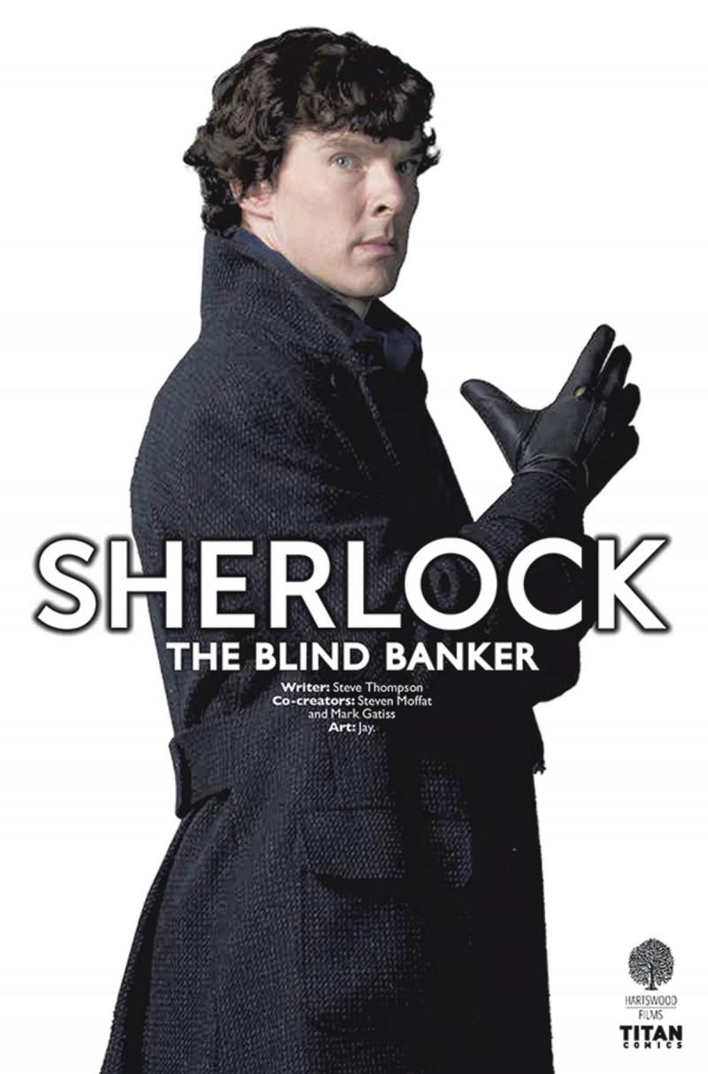 Sherlock Blind Banker #3 CVR B