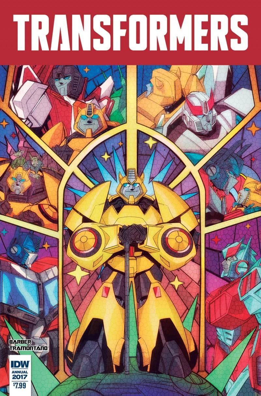 Transformers Annual 2017 CVR A
