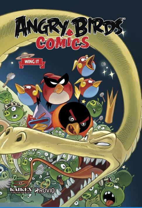 Angry Bird Comics HC V6 Wing It