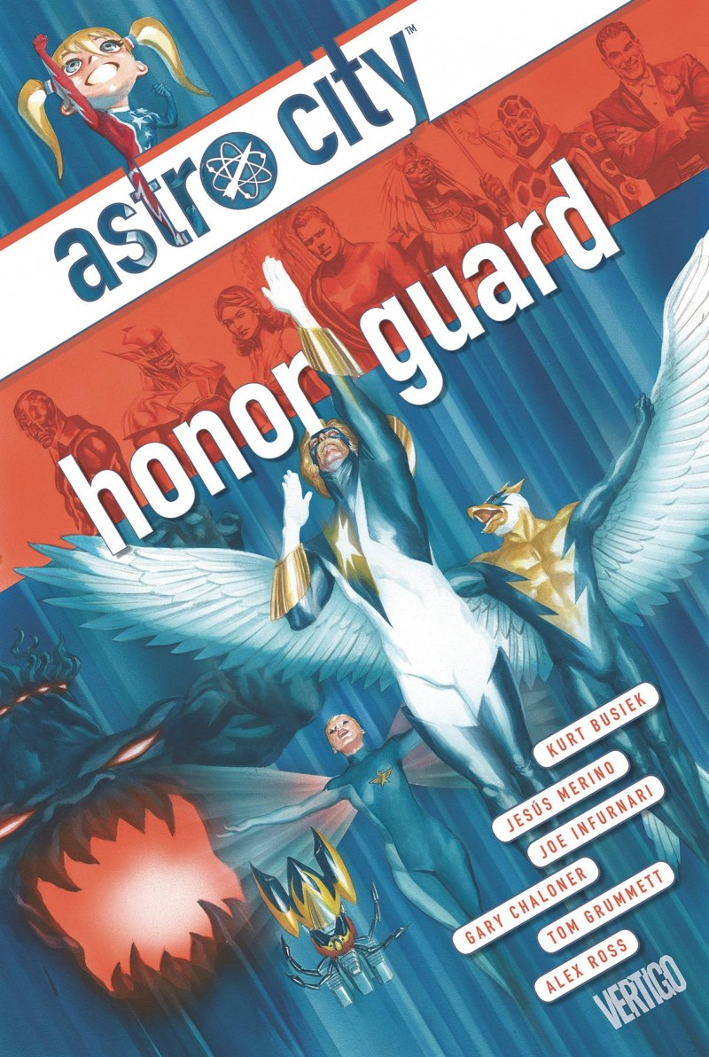 Astro City TP Honor Guard