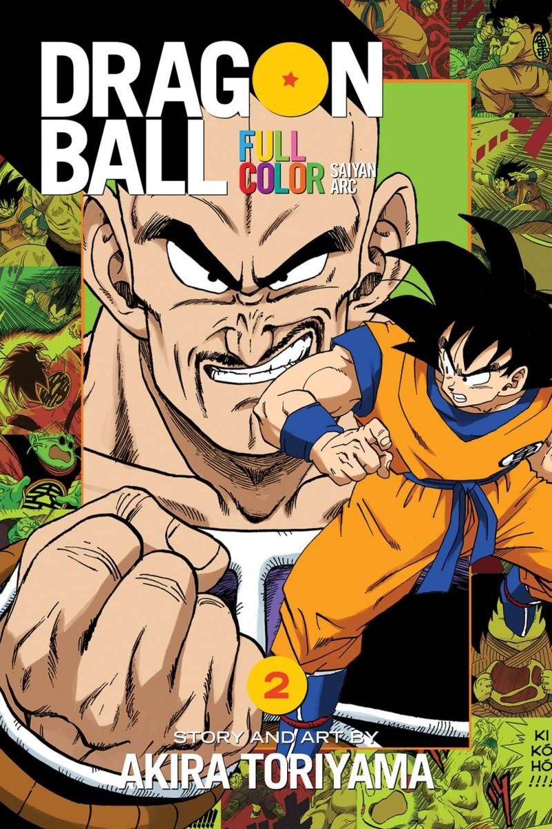 Dragon Ball TP Full Color Saiyan Arc V2