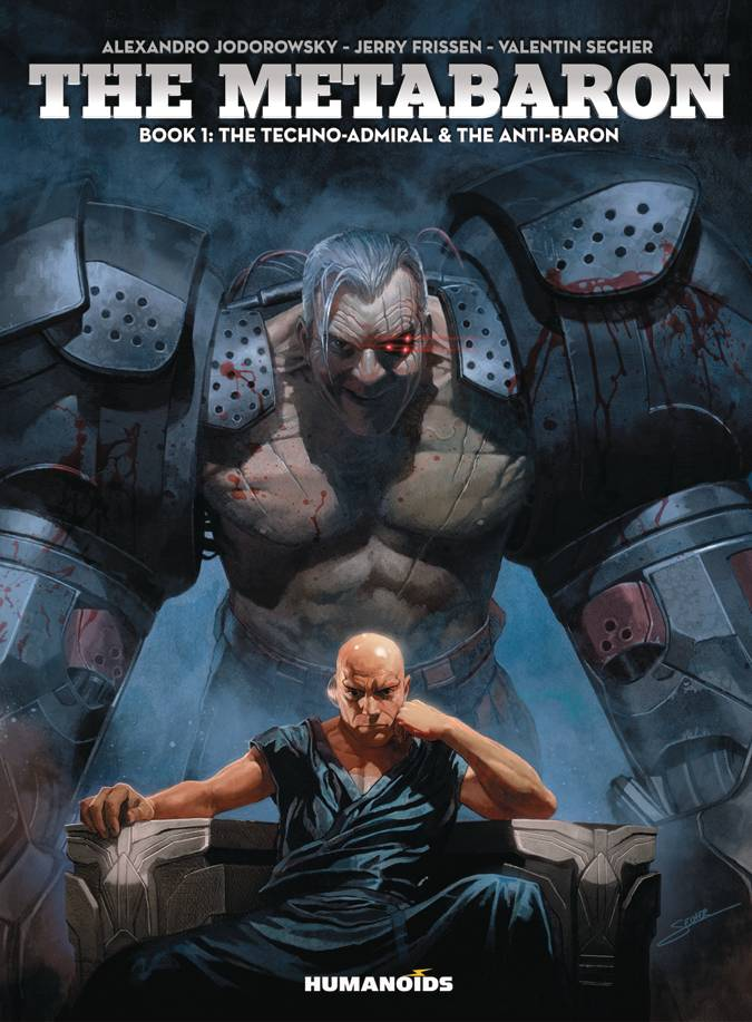 Metabaron HC V1 Techno Admiral Anti Baron