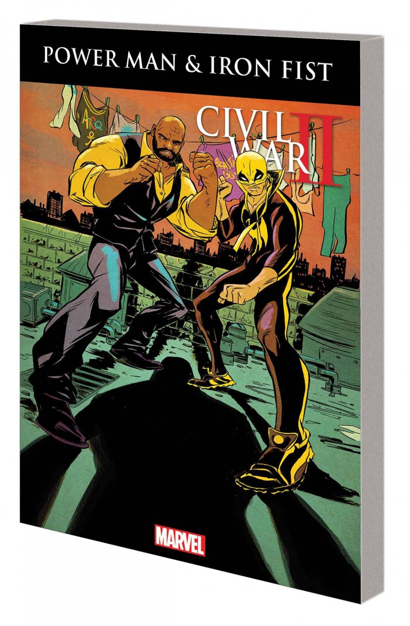 PPower Man and Iron Fist TP  Civil War II