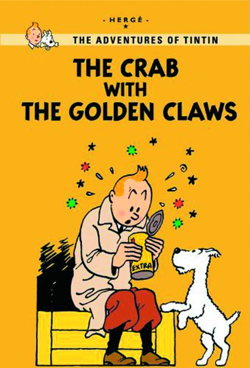 Tintin GN Crab and Golden Claw