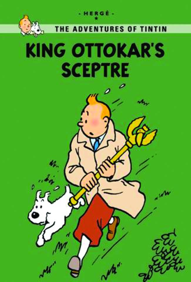 Tintin GN King Ottokars Sceptre