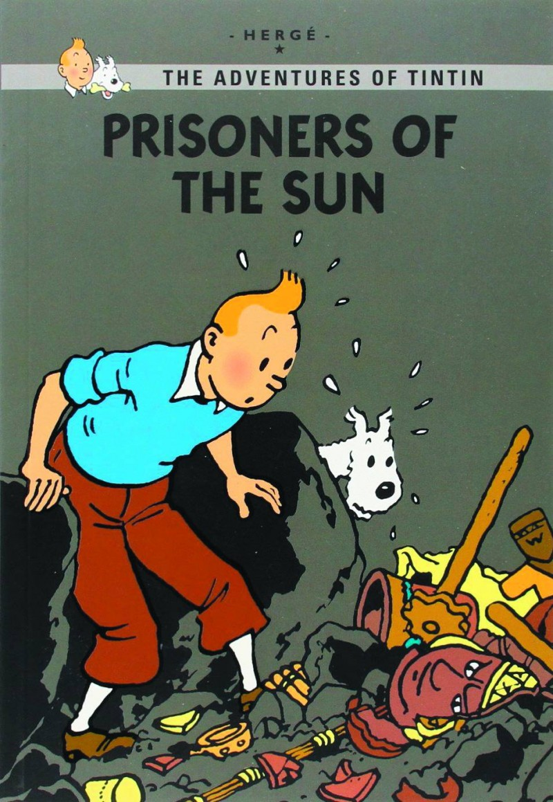 Tintin GN Prisionsers of Sun
