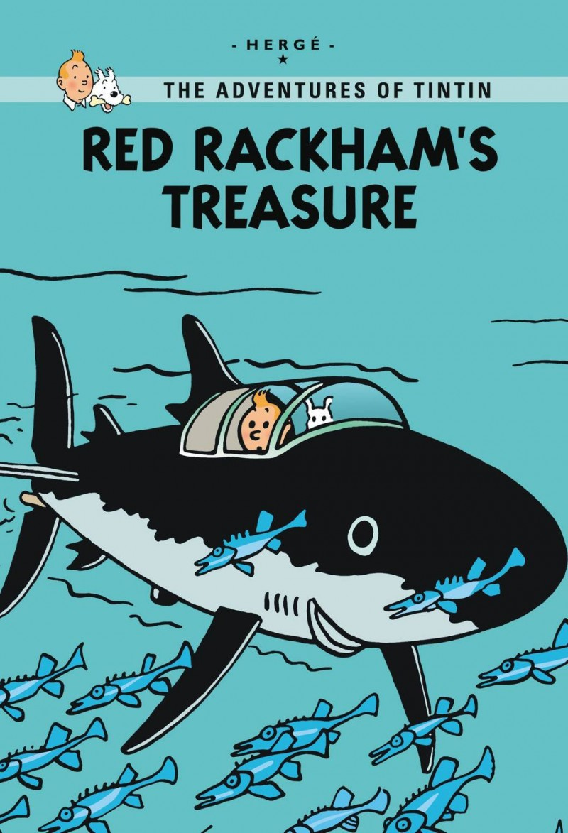 Tintin GN Red Rackhams Treasure