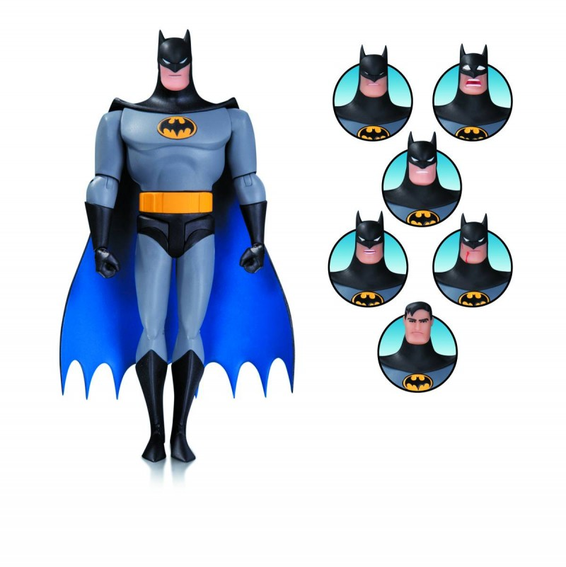 DC Direct Batman Animated Batman Expressions Box Set