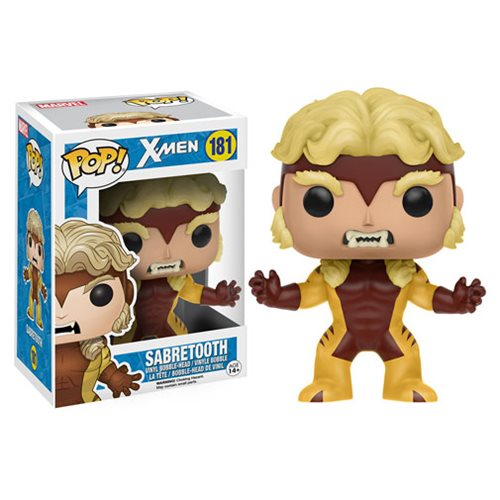 Funko Pop Marvel X-Men Sabretooth