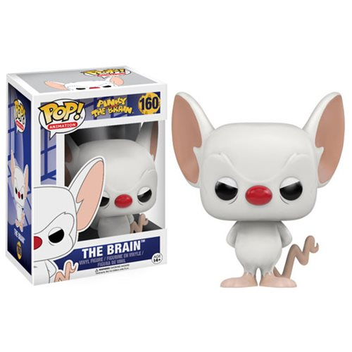 Funko Pop Pinky and the Brain Figure Brain