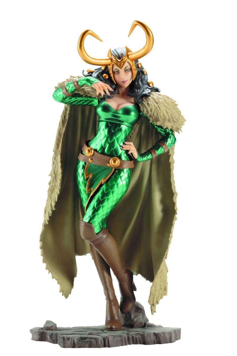 Marvel Bishoujo Statue Lady Loki
