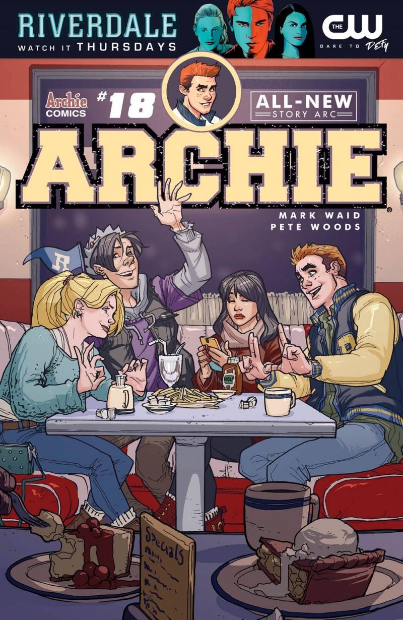 Archie V2 #18 CVR A Woods