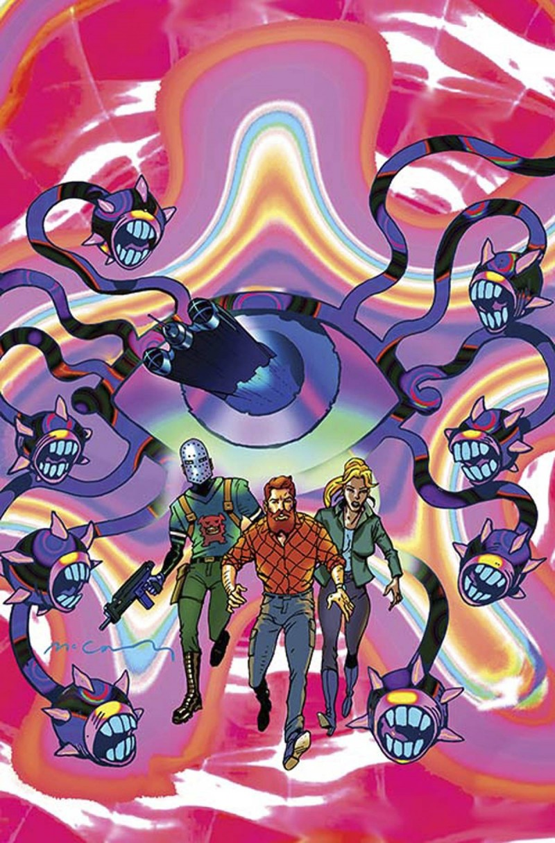 Cave Carson Has a Cybernetic Eye #6 CVR B