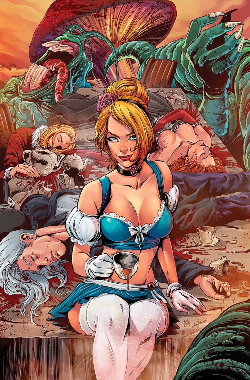 Cinderella Serial Killer Princess #3 CVR D Otero