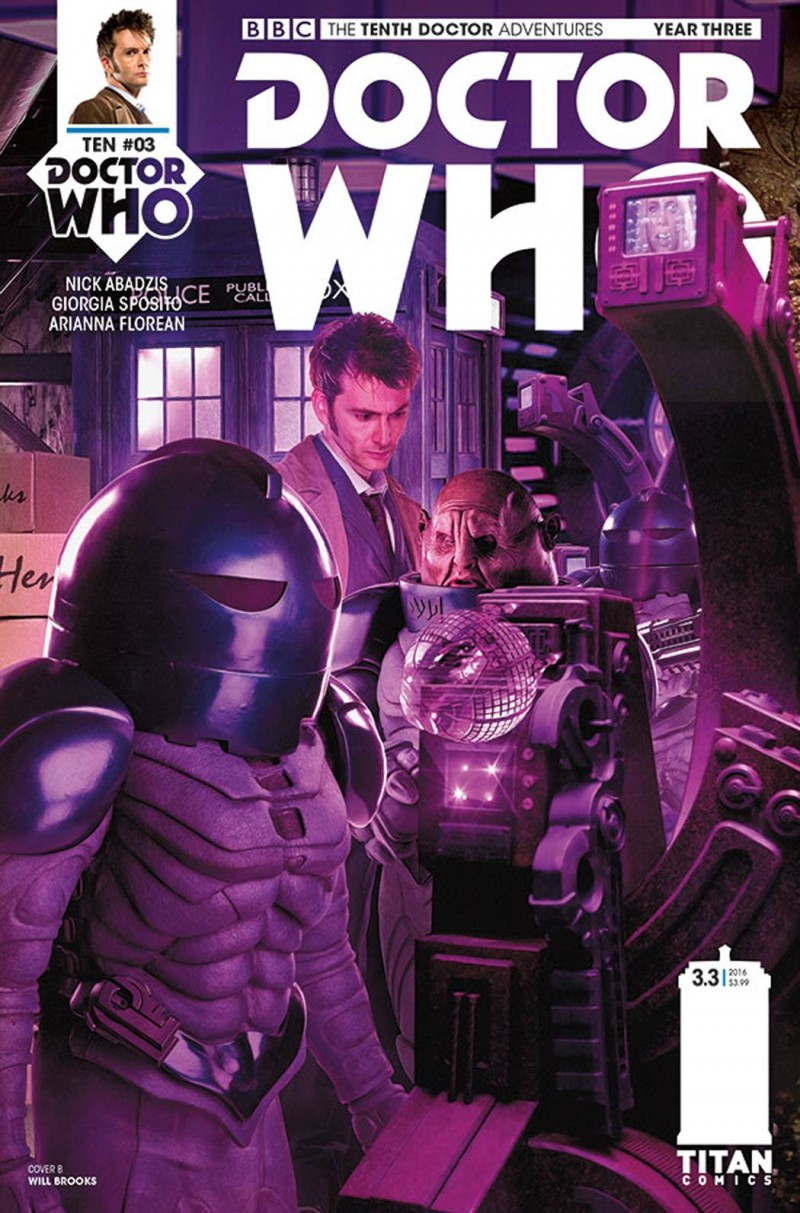 Dr Who 10th Year Three #3 CVR B