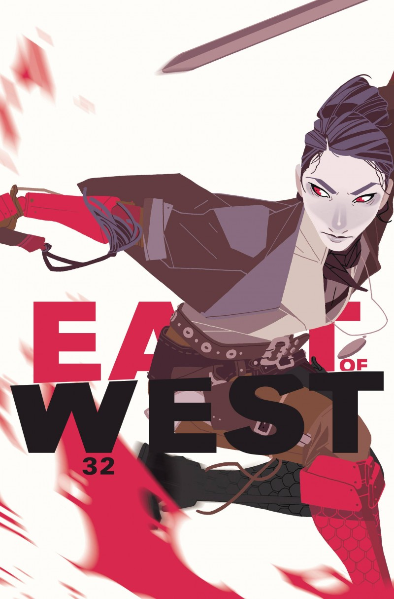 East of West #32 CVR B Womens History Month