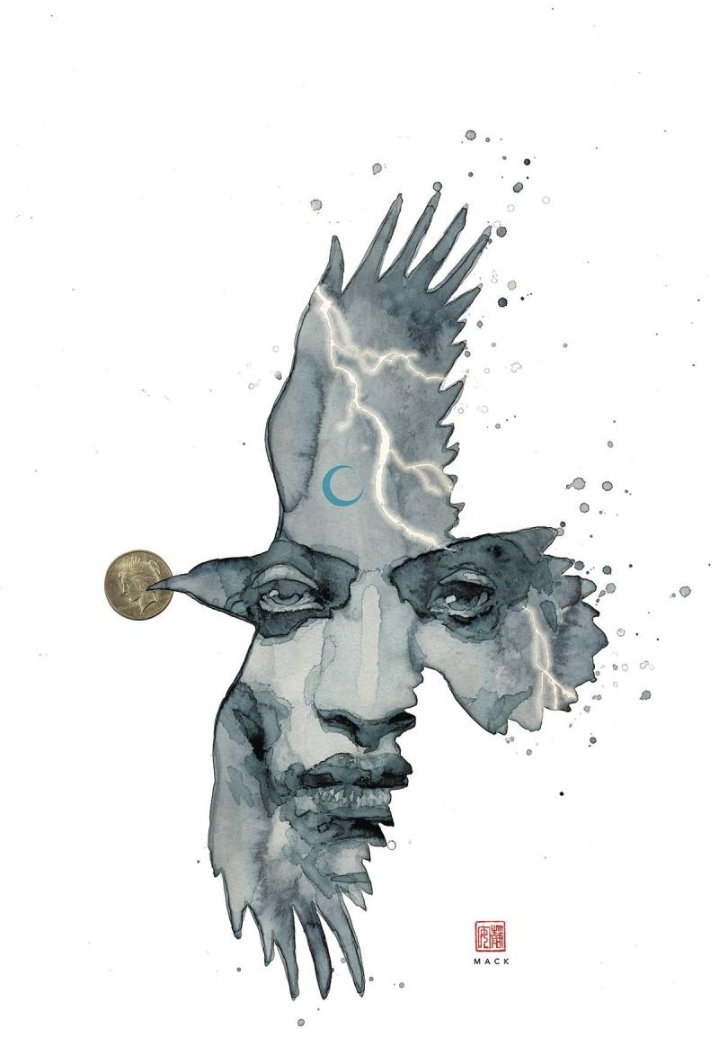 Neil Gaiman American Gods Shadows #1 CVR B Mack