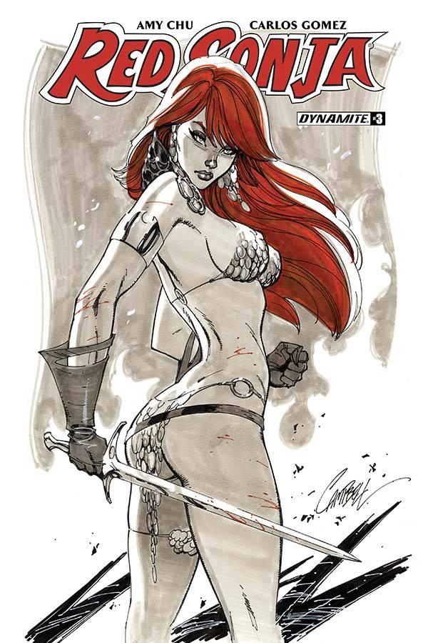 Red Sonja V7 #3 CVR B Campbell