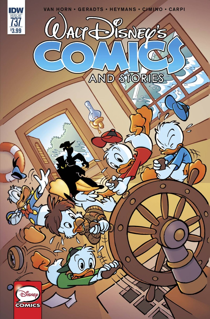 Walt Disney Comics and Stories #737