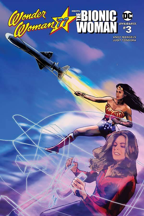 Wonder Woman 77 Bionic Woman #3 CVR A Staggs