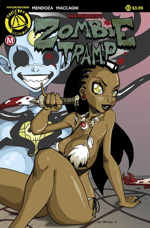 Zombie Tramp V3 #33 CVR A Mendoza