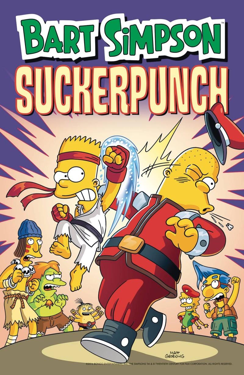 Bart Simpson TP Suckerpunch