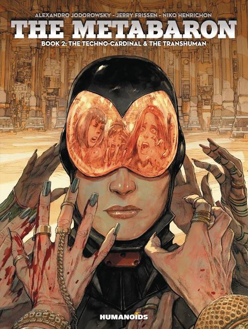 Metabaron HC V2 Techno Cardinal and Transhuman