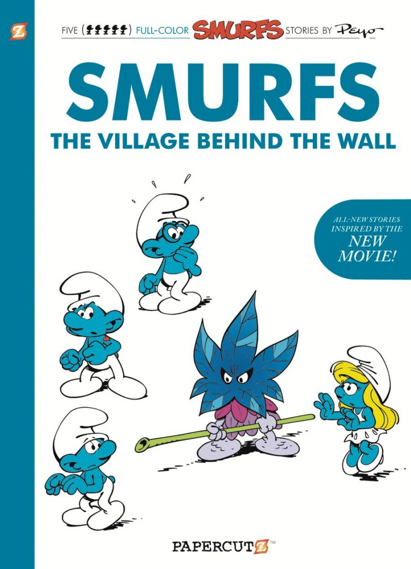 Smurfs GN the Village Behind the Wall