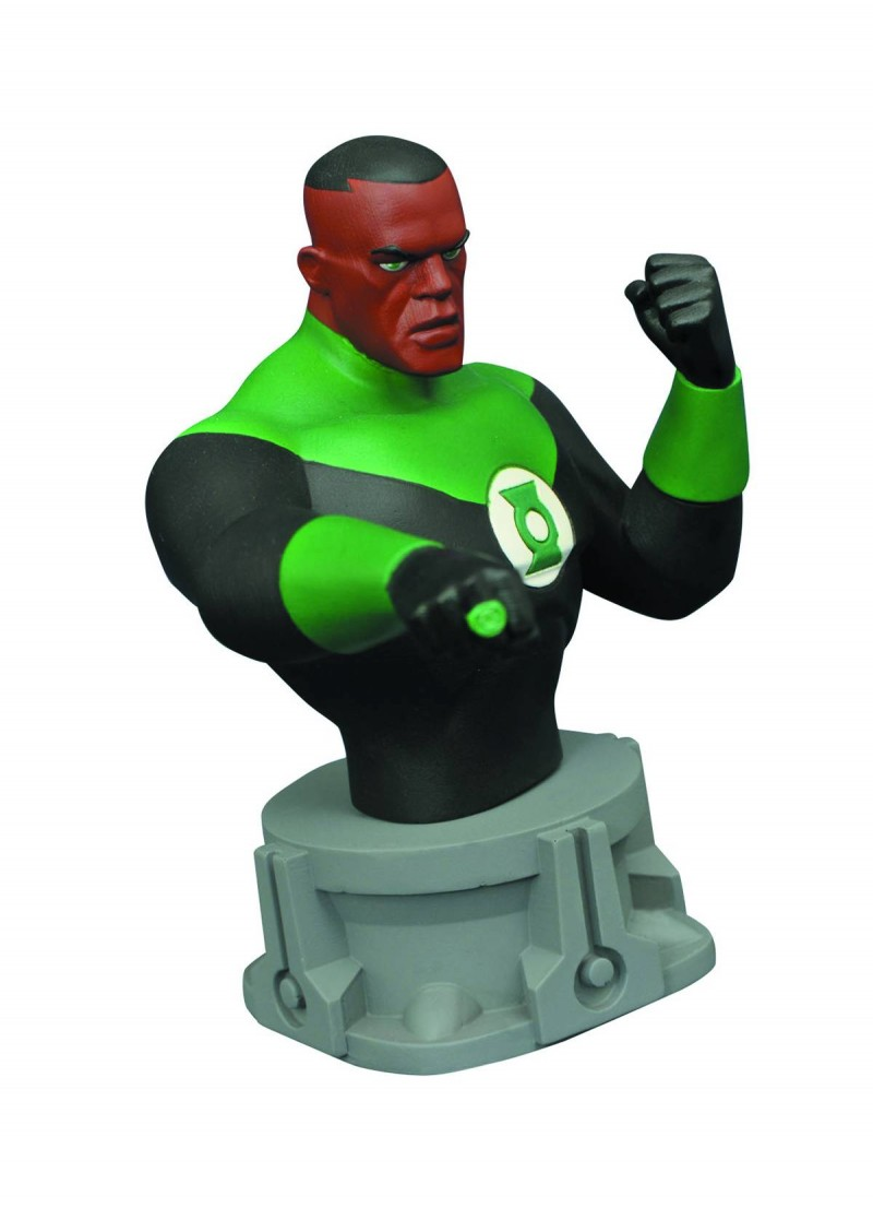 DC Statue JL Animated Green Lantern Bust