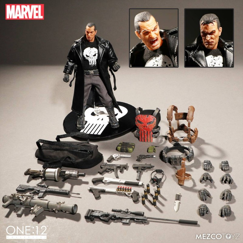 One-12 Collective Marvel AF Punisher Deluxe Edition
