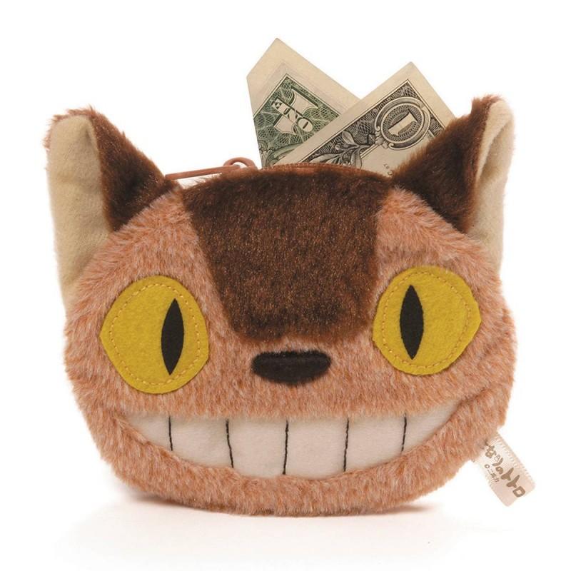 Totoro Cat Bus Coin Purse
