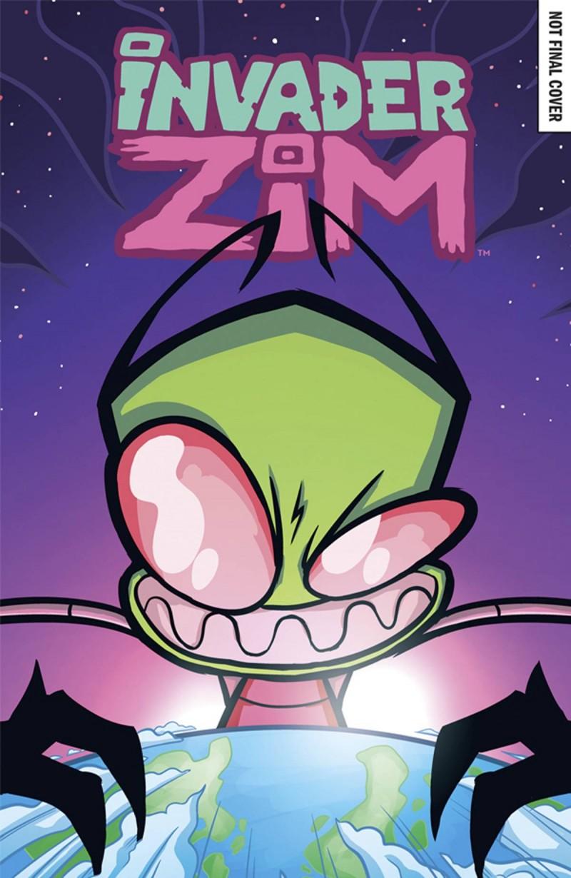 Invader Zim #20 CVR A