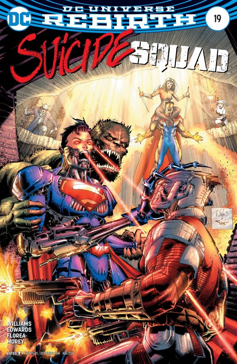 Suicide Squad V6 #19 CVR B