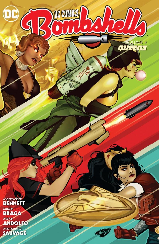 DC Comics Bombshells TP V4 Queens